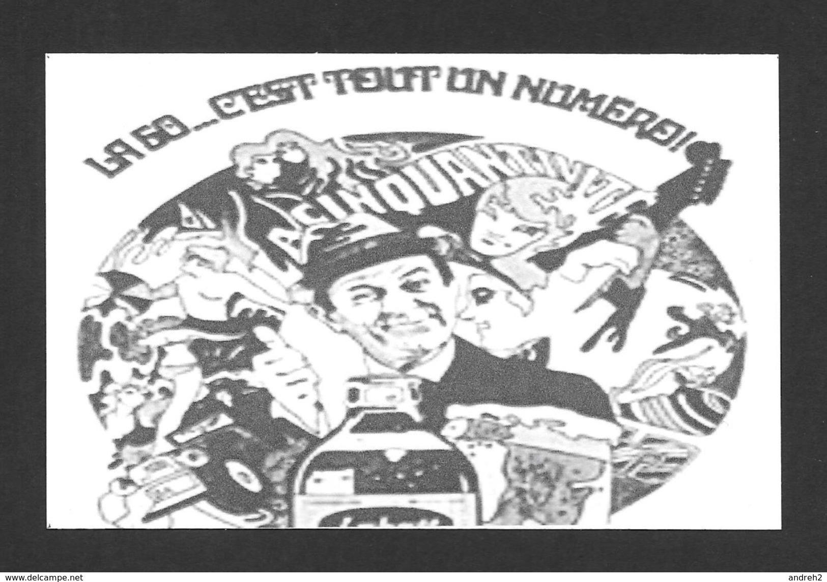 PUBLICITÉ - ADVERTISING - LABATT 50 - OLIVIER GUIMOND LUI Y CONNAIS ÇA - LA 50 C'EST TOUT UN NUMÉRO Y A RIEN QUI LABATT - Advertising