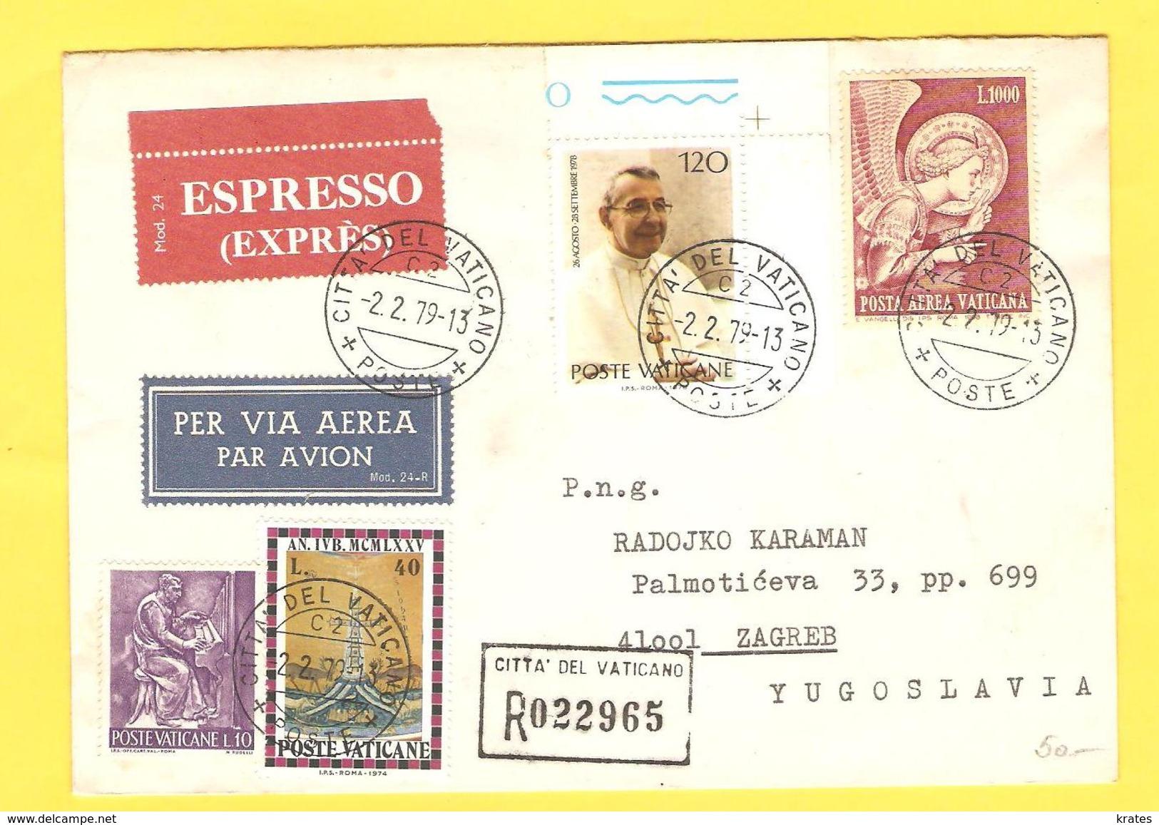 Old Letter - Vatican - Altri