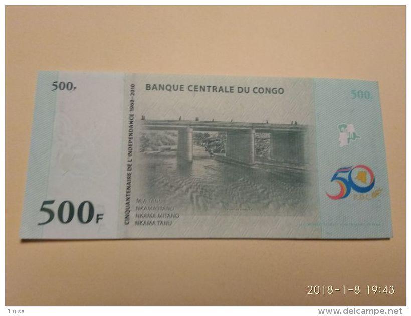 500 Francs 2010 - Congo
