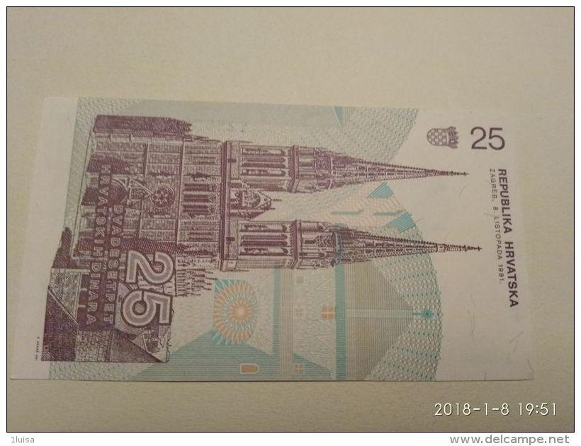 25 Dinara 1991 - Croatie