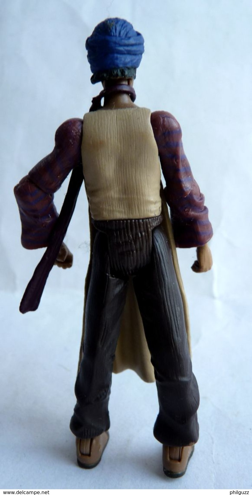 INDIANA JONES - RAIDERS OF THE LOST ARK - HASBRO 2008 - MONKEY MAN SANS SON SINGE Et Sans Manteau (2) - Figurines