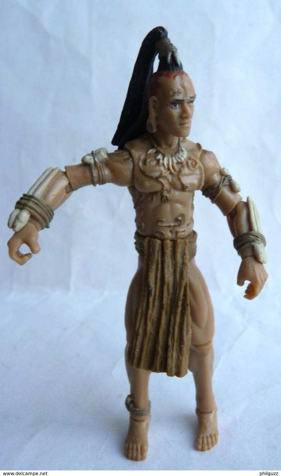 INDIANA JONES - RAIDERS OF THE LOST ARK - HASBRO 2008 - GUERRIER NAZCA (3) Sans Accessoires - Figurines