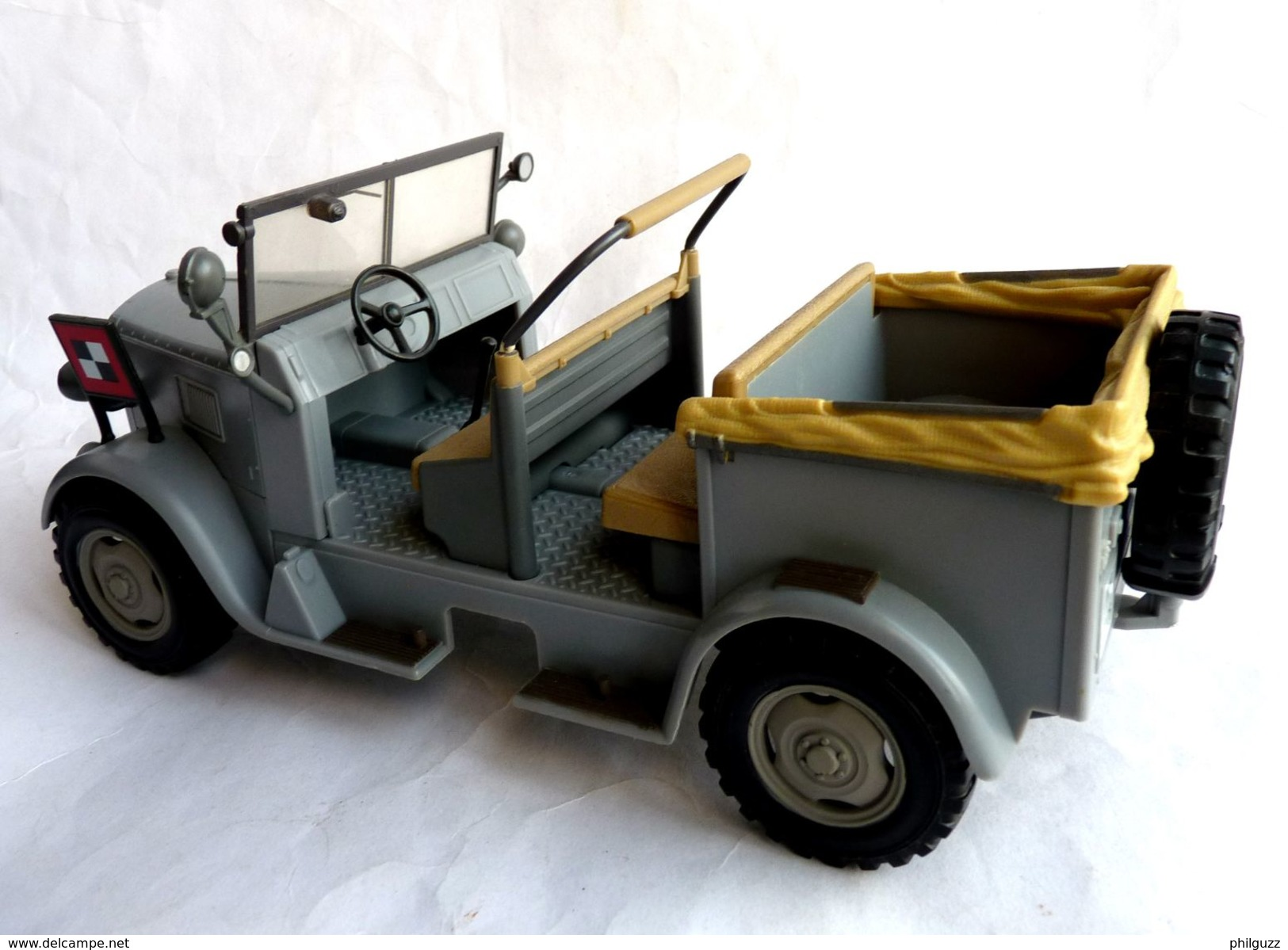INDIANA JONES - RAIDERS OF THE LOST ARK - HASBRO 2008 - CAMION TROOP CAR WH WW2 - Figurines