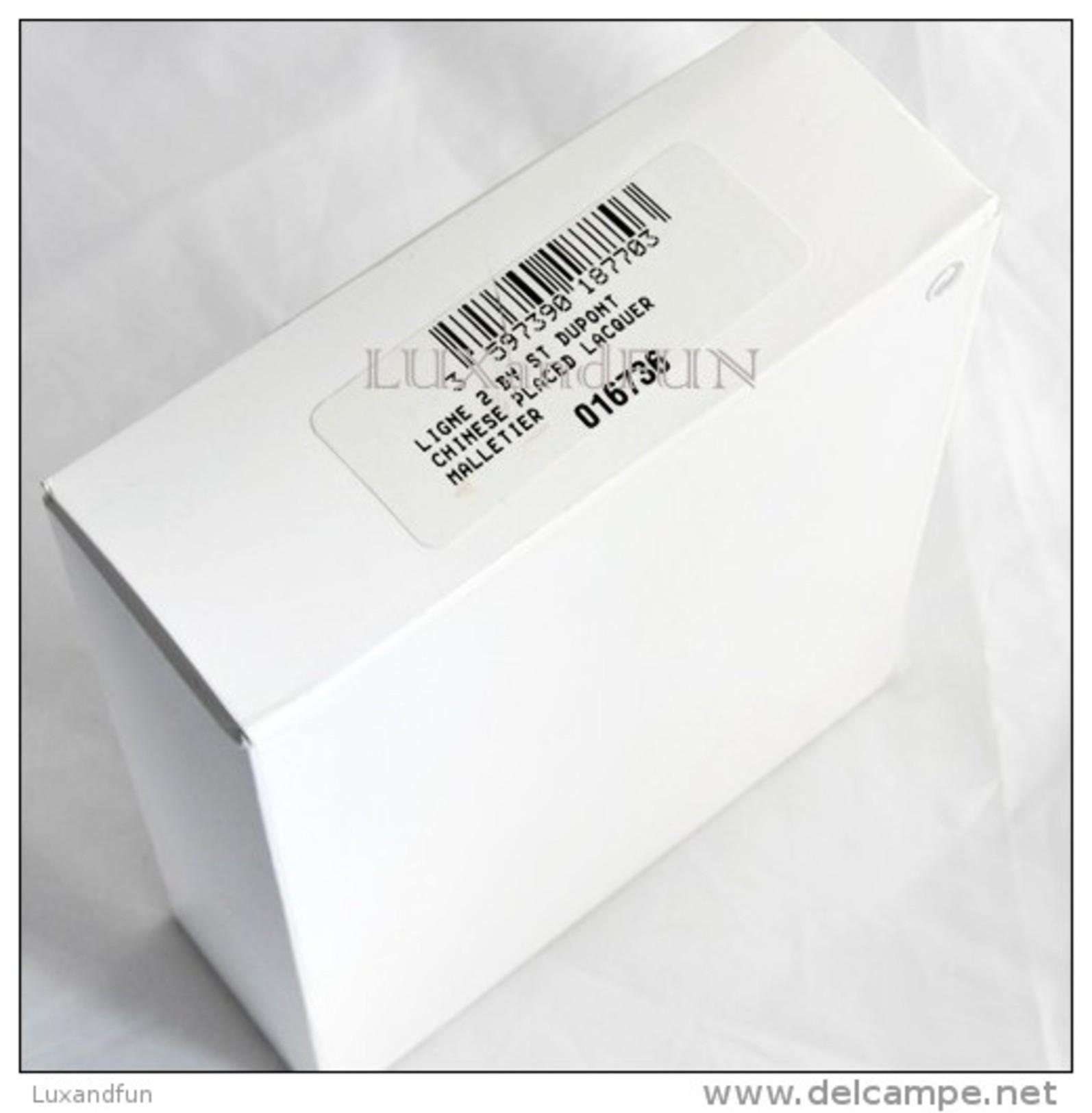S.T. Dupont Lighter L2 Malletier Lacquer Palladium - Accendino Premium Edition - Never Used - Dupont