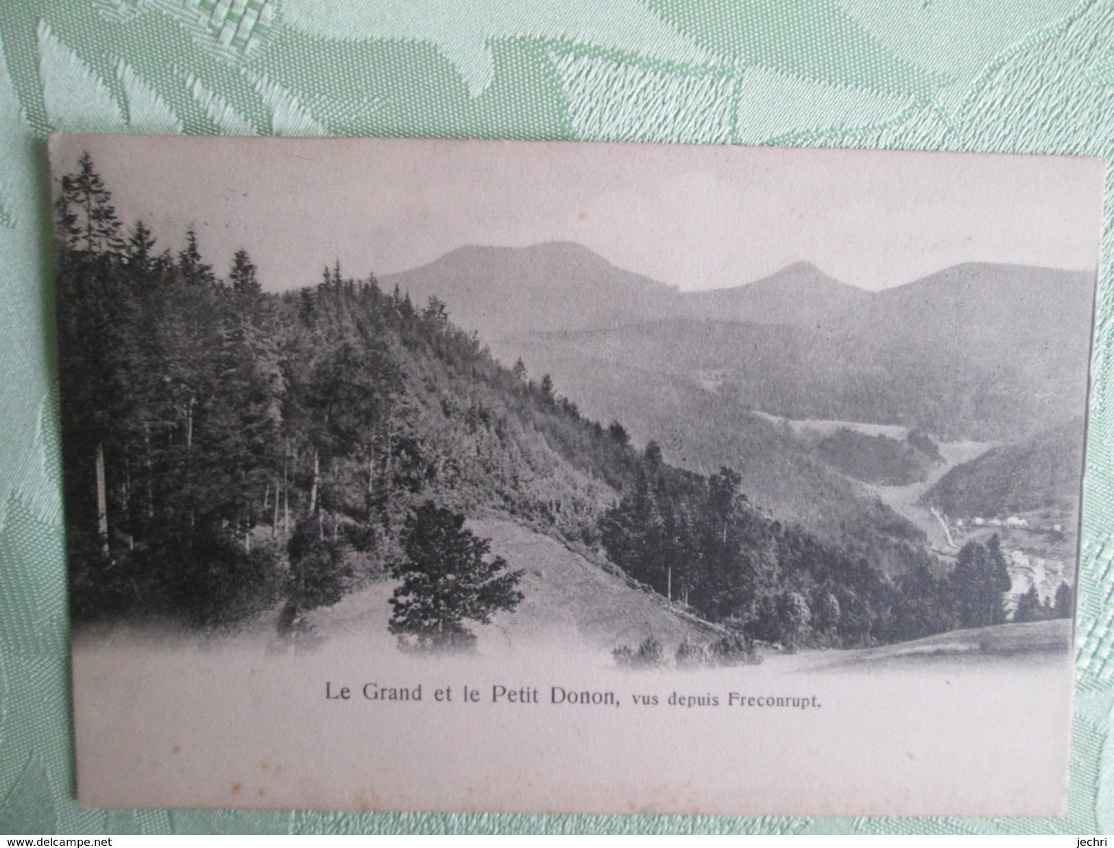 Le Grand Et Le Petit Donon , Vue Depuis Freconrupt - France