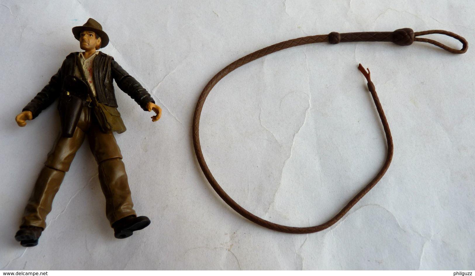 INDIANA JONES - RAIDERS OF THE LOST ARK - HASBRO 2008 - FOUET POUR FIGURINE 12 Pouce - Figurines
