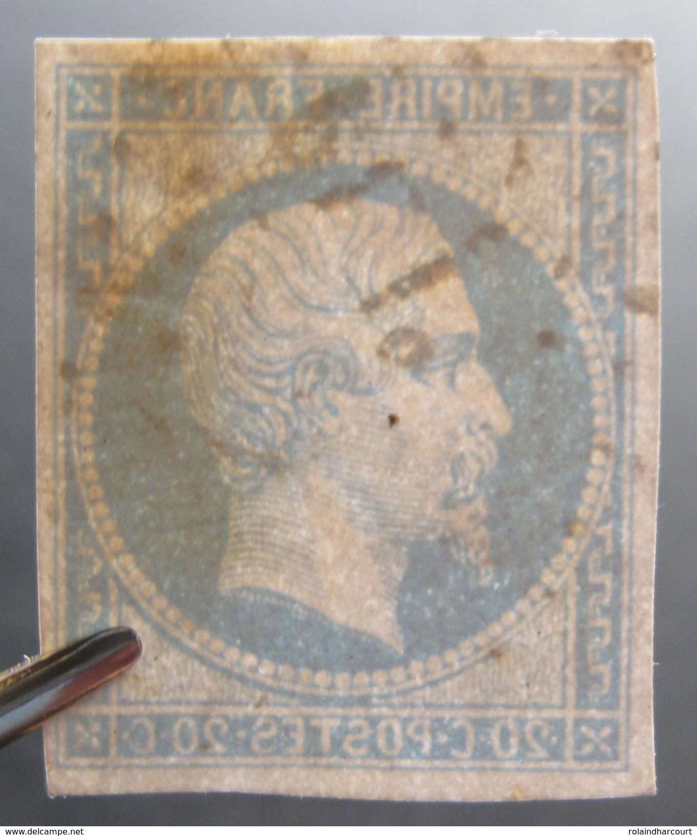 "Lot R1861/638 - NAPOLEON III N°14B - Cachet AMBULANT "" PL1° "" - 1853-1860 Napoléon III"