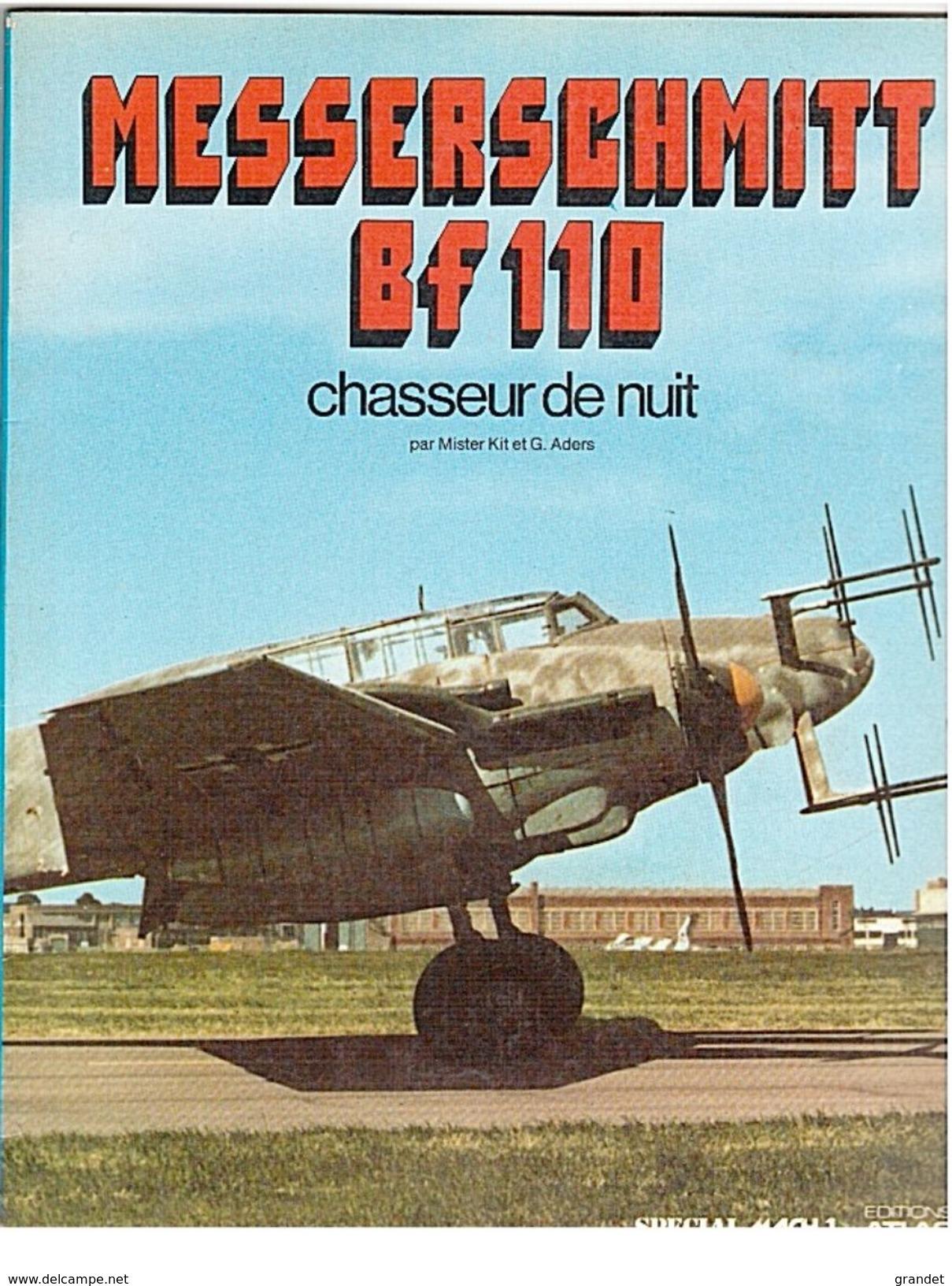 SPECIAL - MACH 1 - MESERSCHMITT - BF110 - ATLAS - 1981 - Français