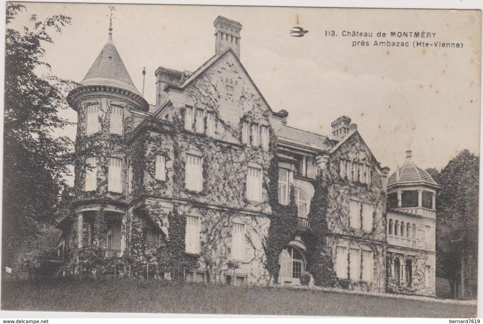 87 Chateau De Montmery Pres Ambazac - France