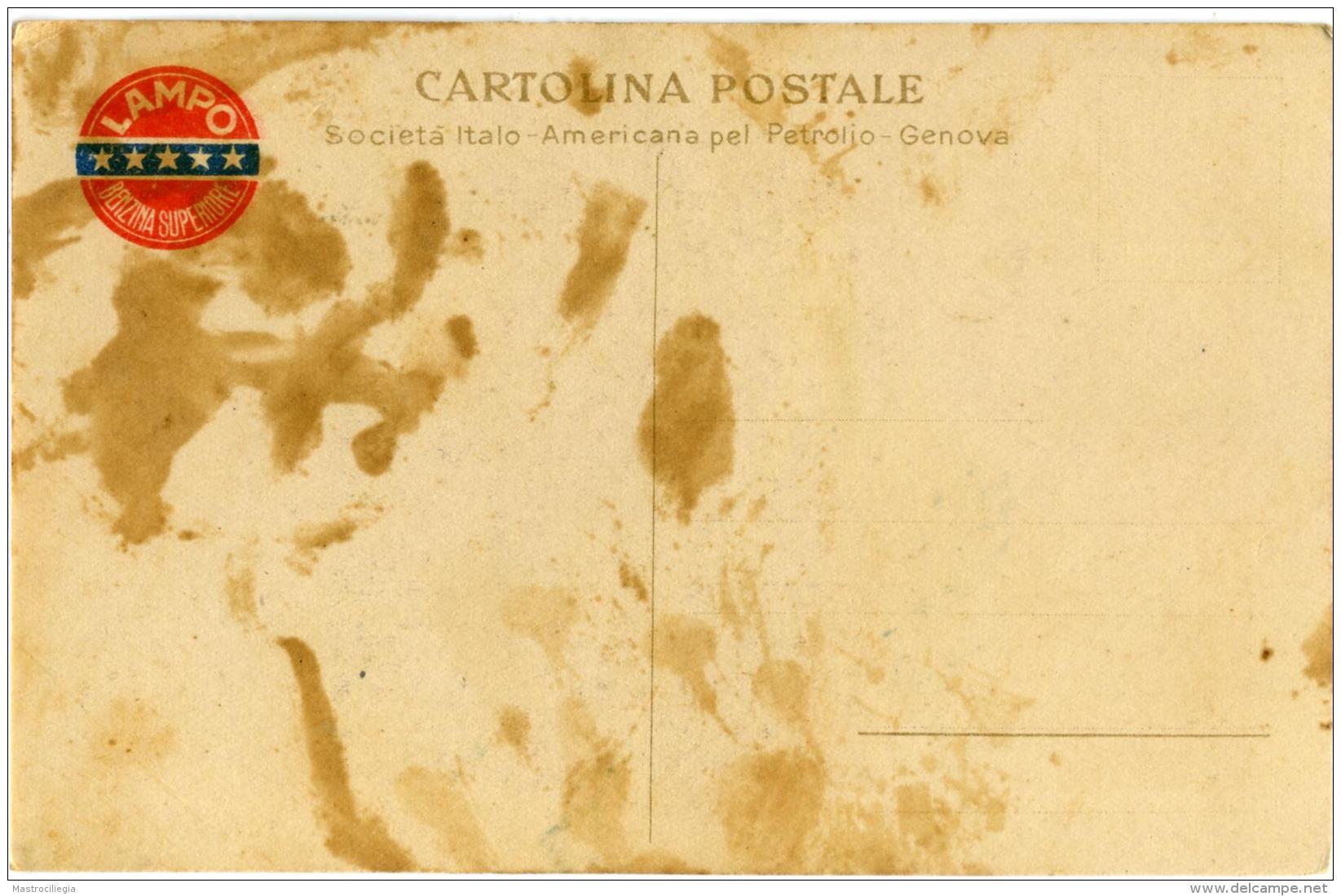 COW BOY  HORSE  Pubblicitaria Lampo  Benzina Superiore - Cavalli