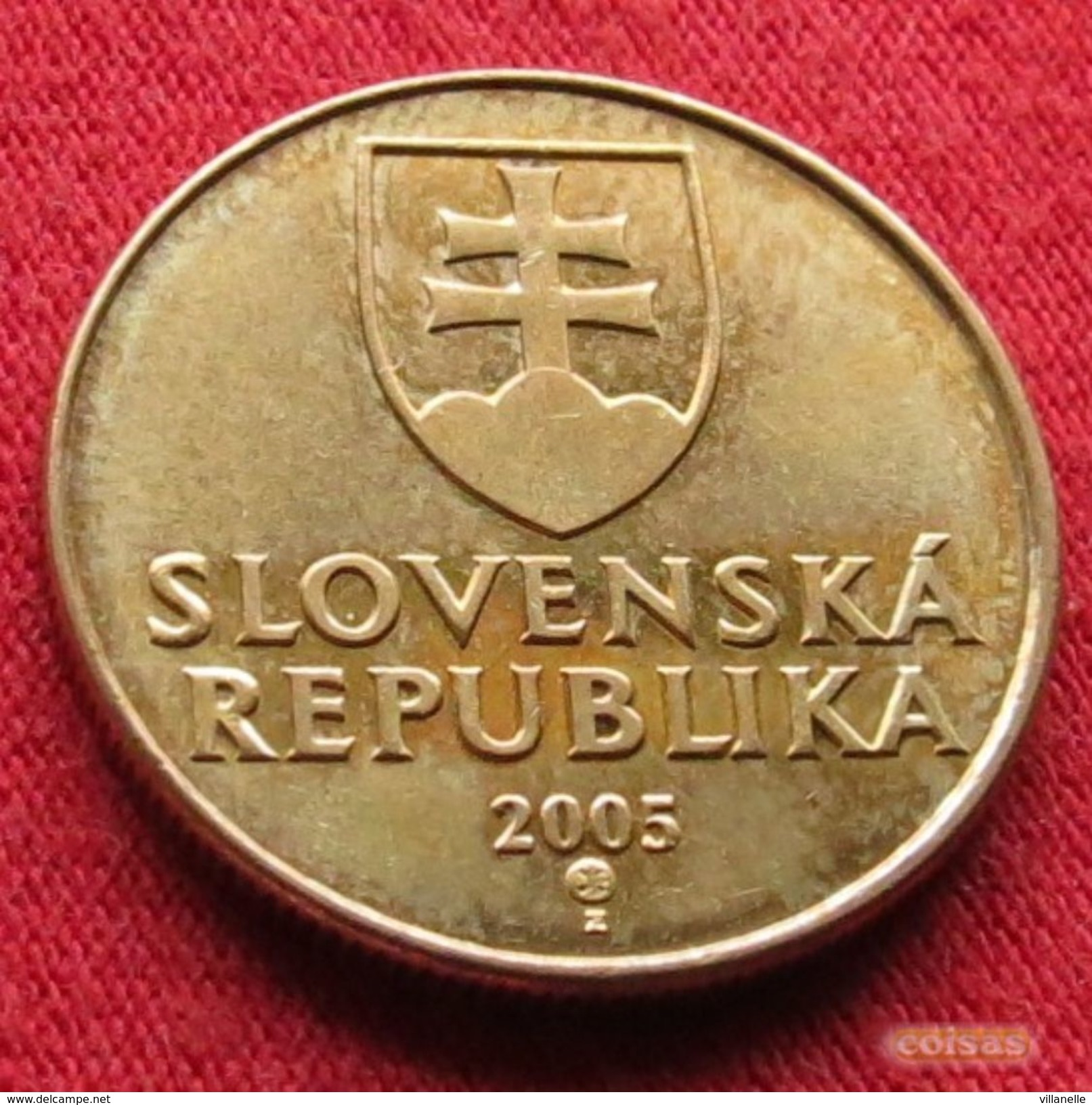 Slovakia 1 Koruna 2005 KM# 12 Eslovaquia Slovaquie - Slovakia