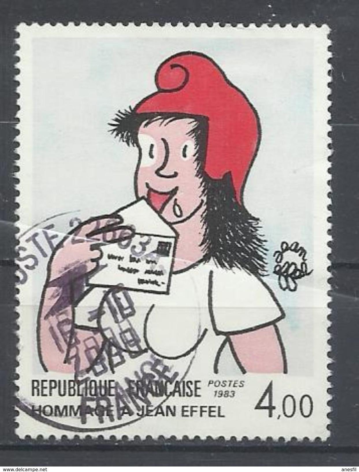 Francia. 1983. Homenaje A Jean Effel. - Profesiones