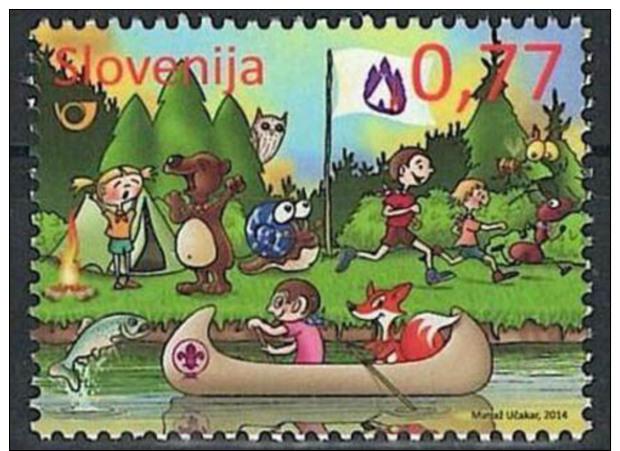 Slovenia Boy Scout 2014 - Outdoor Activities 1V - Slovenia