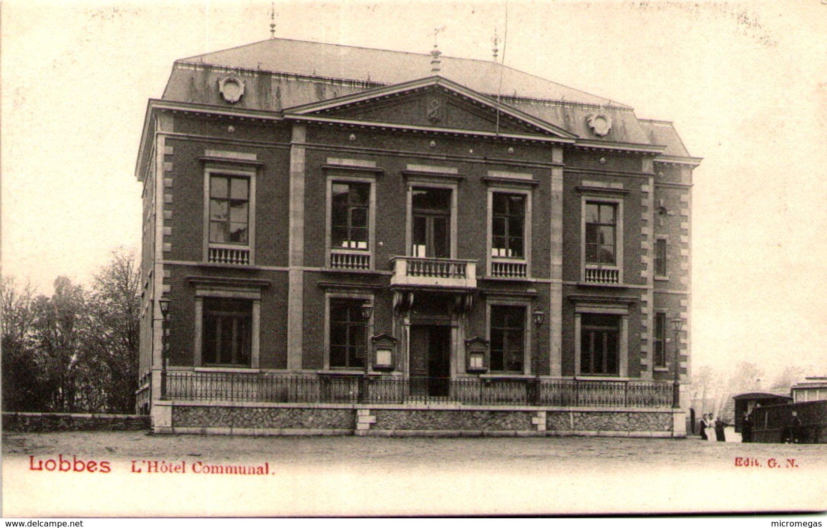 LOBBES - L'Hôtel Communal - Lobbes