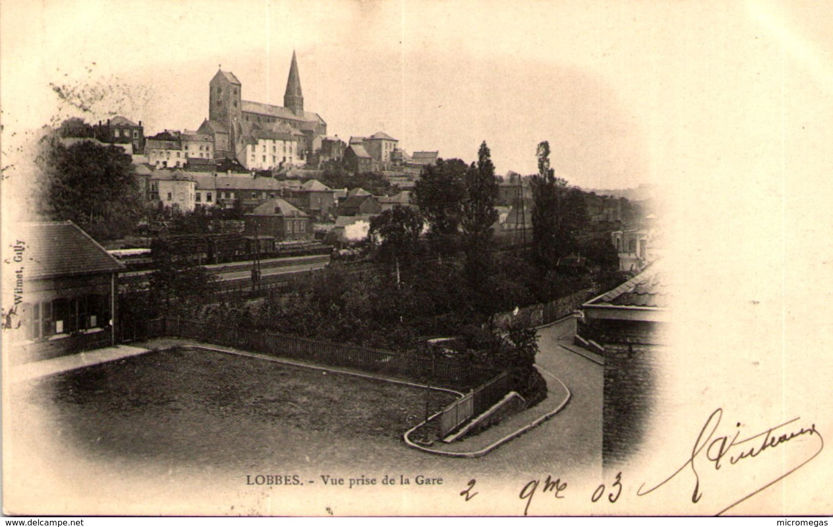 LOBBES - Vue Prise De La Gare - Lobbes
