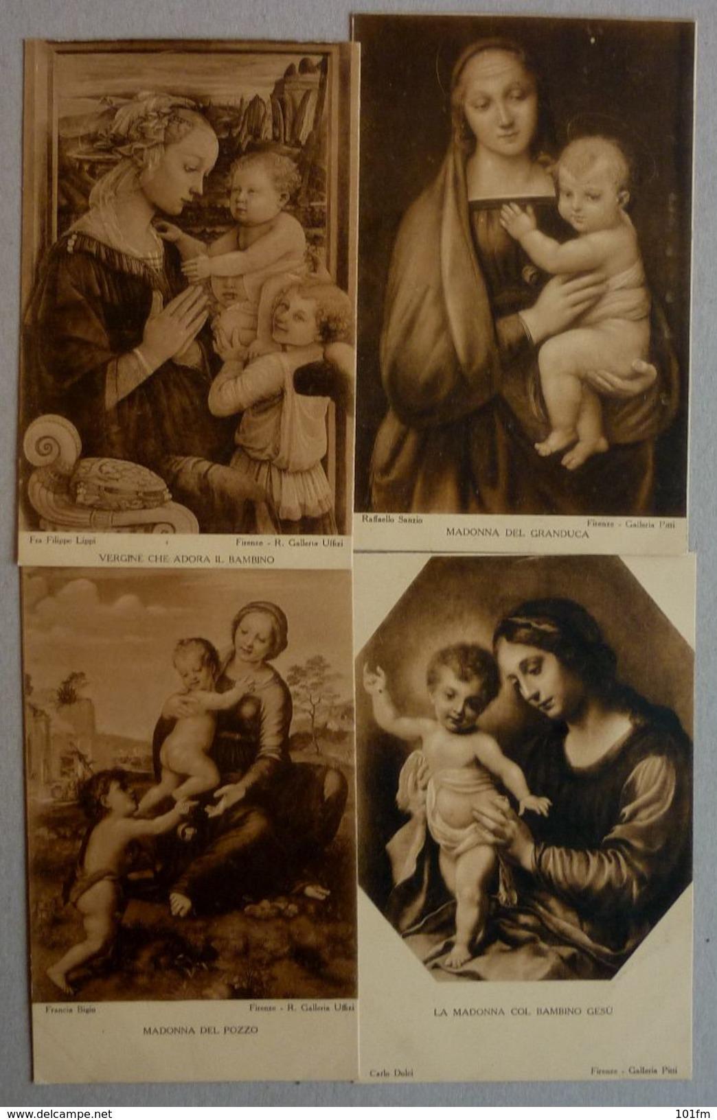 LOT 16 CPA - GALLERIA PITTI, FIRENZE - ITALIA - Cartes Postales