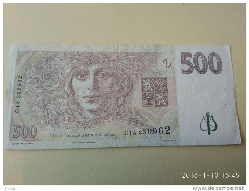 500  Korun 1997 - Tsjechoslowakije