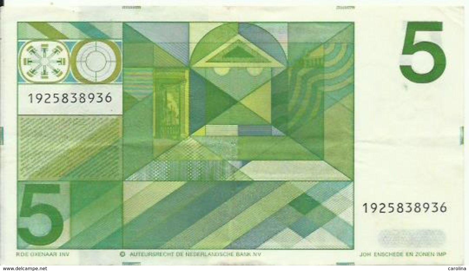 NEDERLAND - 5 GULDEN - 1973 - 1925838936 - SEE PHOTOS - NICE PRICE - 5 Florín Holandés (gulden)