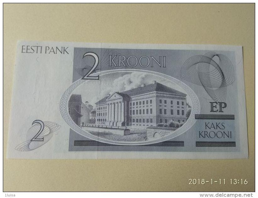 2 Kroon 1992 - Estonia