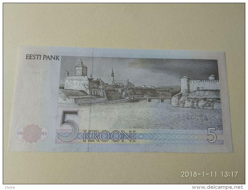 5 Kroon 1992 - Estonia