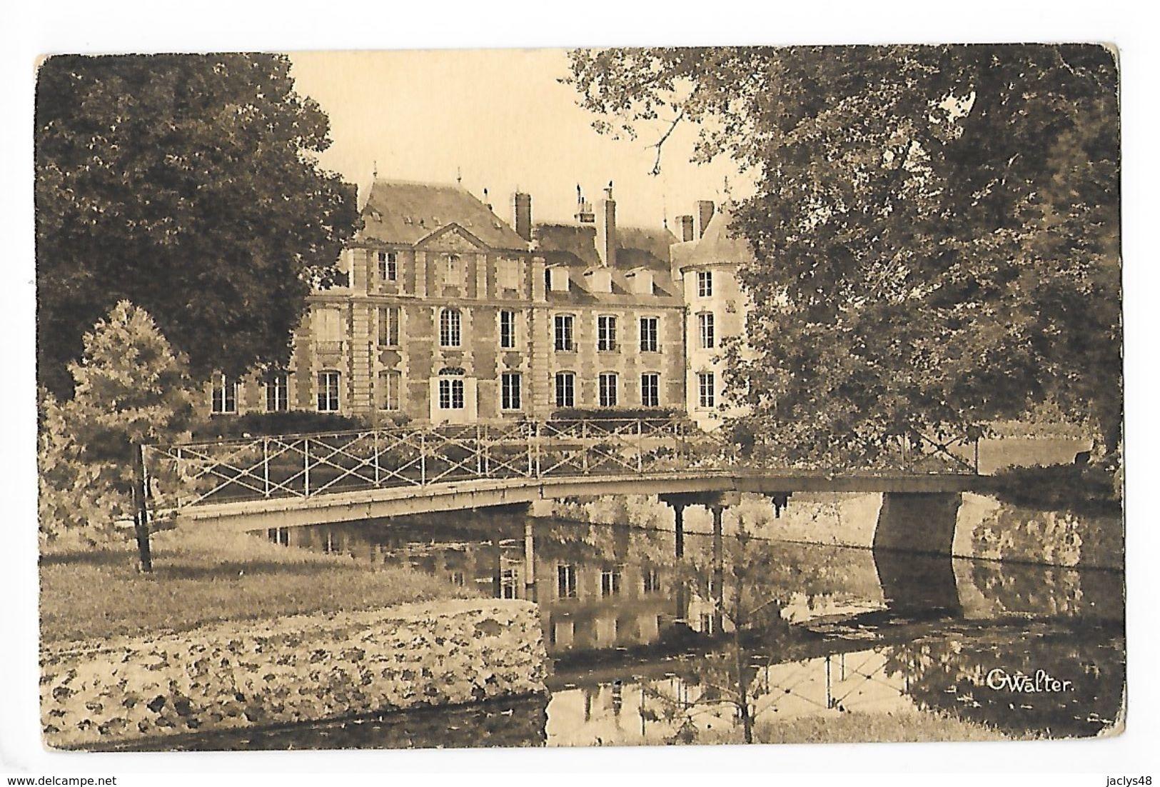 SERQUIGNY   (cpa 27)  Le Château  -   - L 1 - Serquigny