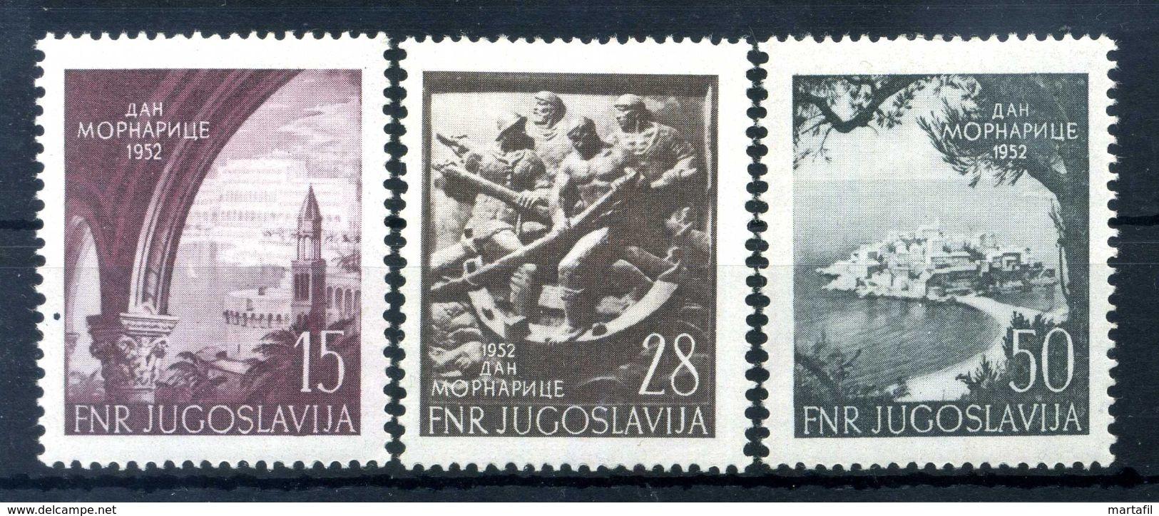 1952 JUGOSLAVIA SET MNH ** - 1945-1992 Repubblica Socialista Federale Di Jugoslavia