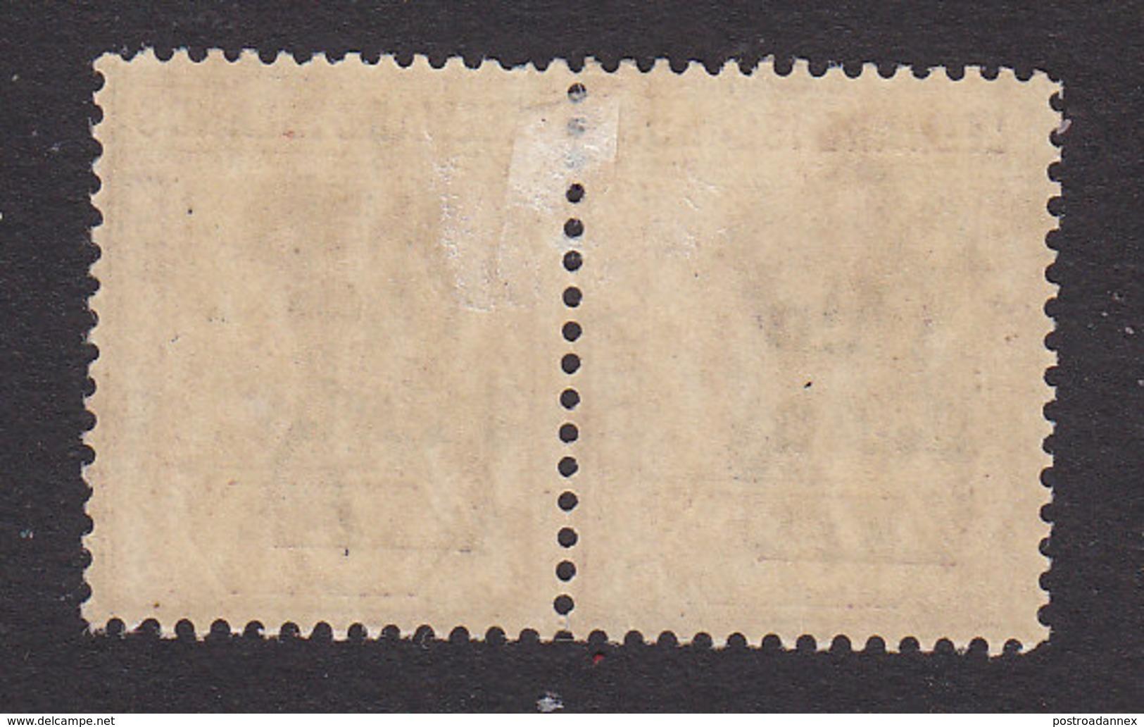 Leeward Islands, Scott #18a, 18, Mint Hinged, Victoria Surcharged, Issued 1902 - Leeward  Islands