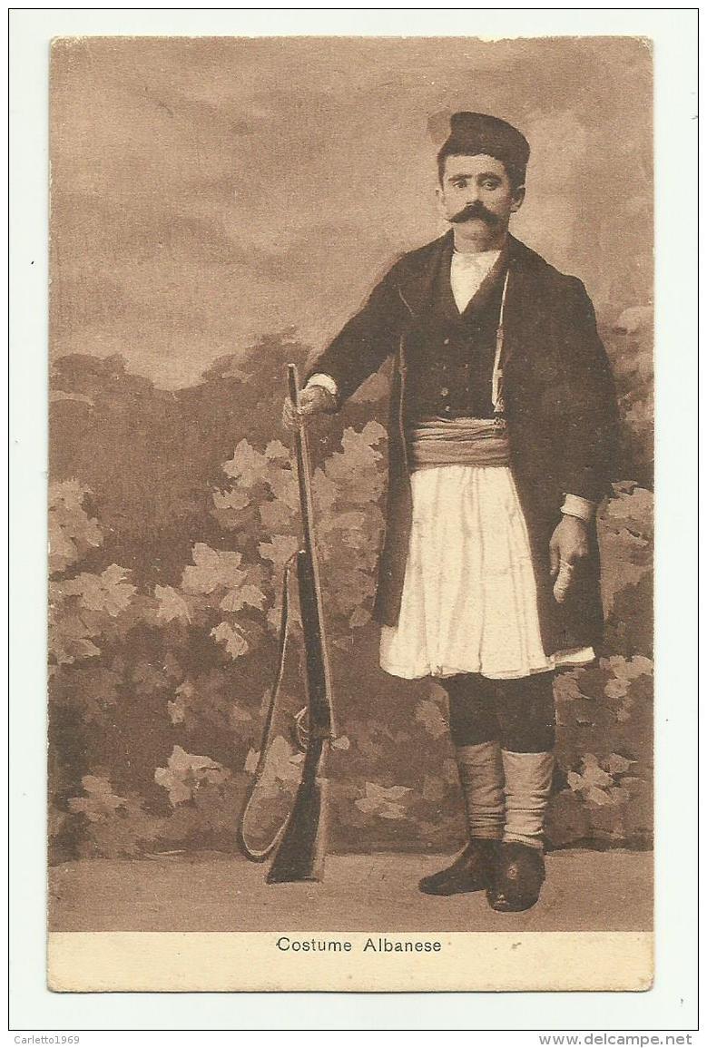 COSTUME ALBANESE - NV FP - Costumi