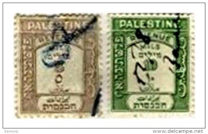 PALESTINE, Revenues, Used, F/VF - Palestine