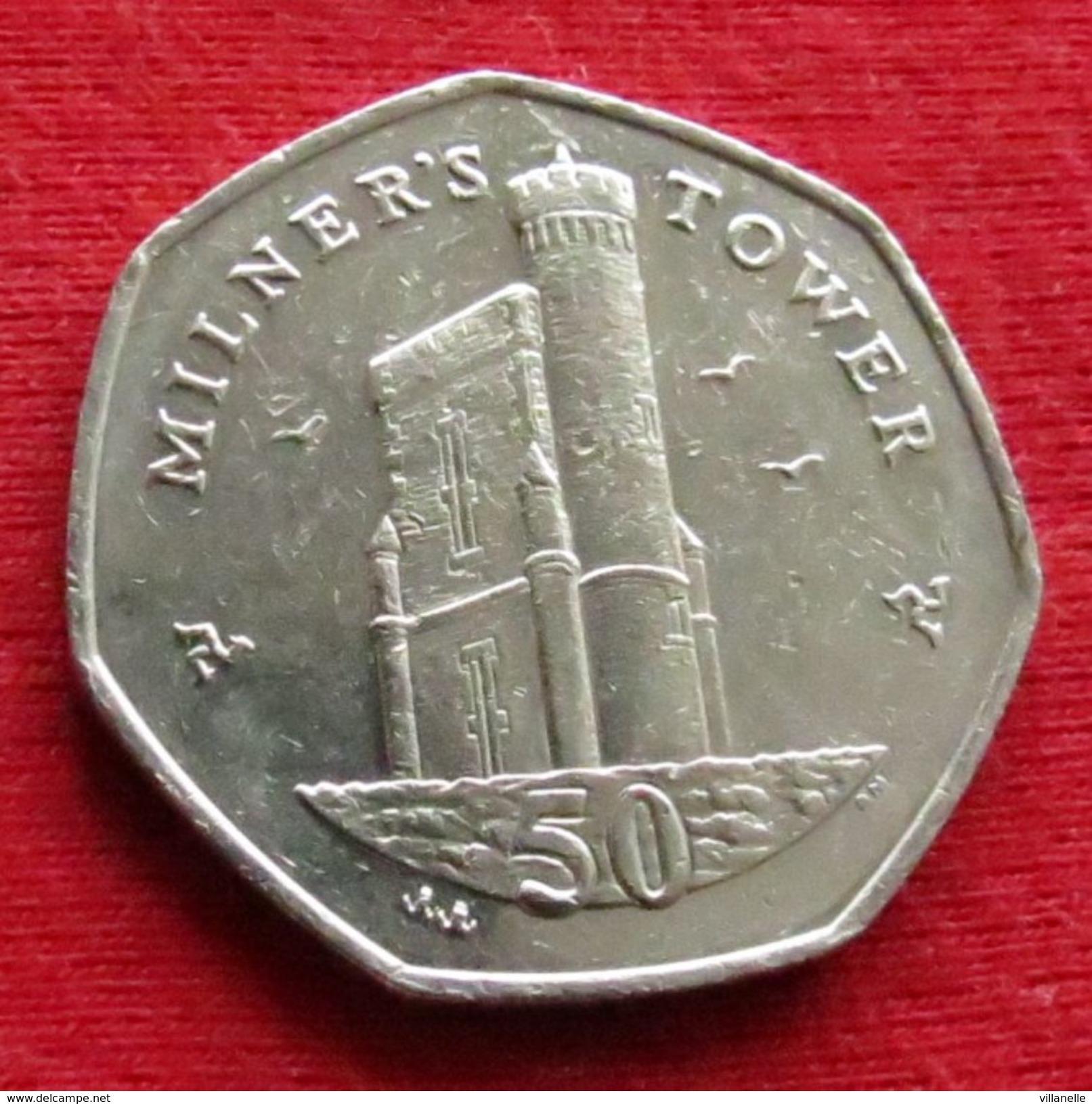 Isle Of Man 50 Pence 2010 KM# 1258  Ile De Man Isla De Man Isola Di Man - Regionale Währungen