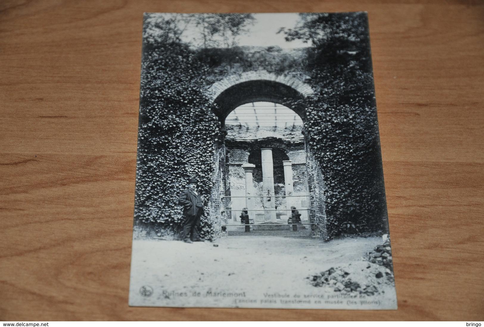 380- Ruines De Mariemont - Animee, Geanimeerd - Non Classés