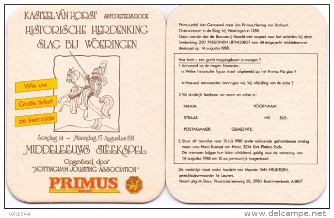 #D189-010 Viltje Primus - Sous-bocks