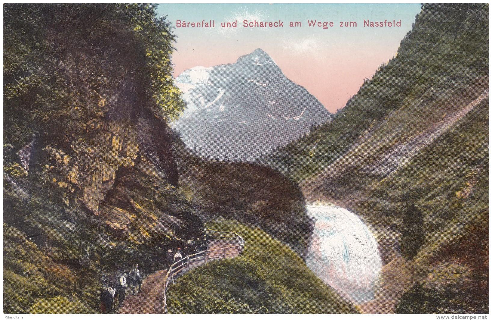 Bärenfall Und Schareck Am Wege Zum Nassfeld (1376) * 1911 - Bad Gastein