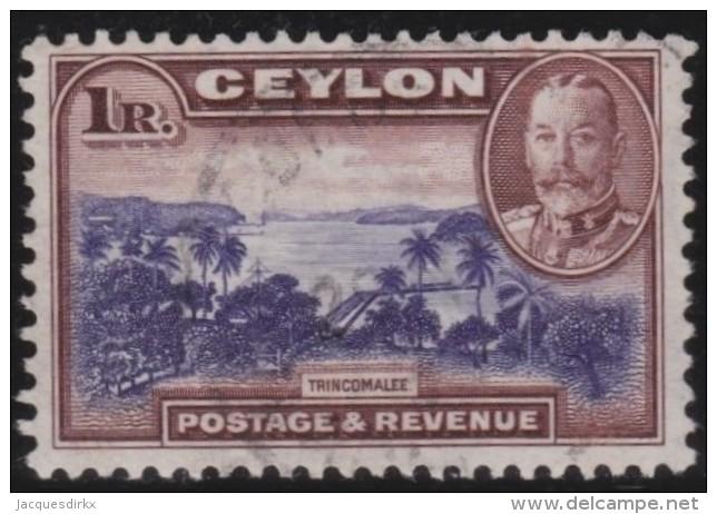 Ceylon     .       SG     .    378       .         O       .          Gebruikt   .    /    .   Cancelled - Ceylon (...-1947)