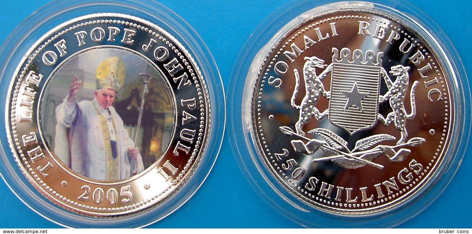 SOMALI REPUBLIC 250 SHILLINGS 2005 THE LIFE OF POPE JOHN PAUL II (9) - Somalia