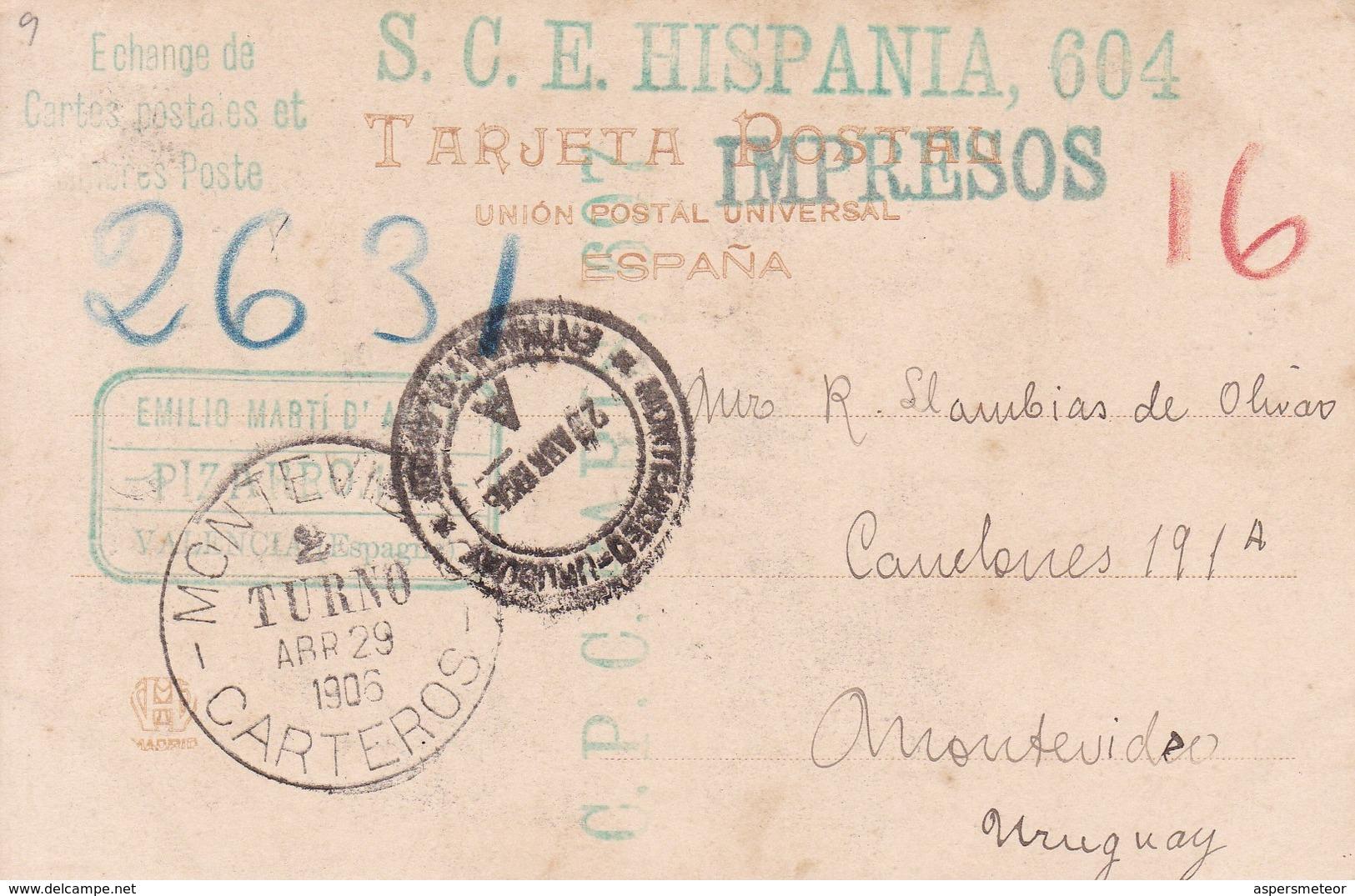 EL TRANSITO DE A VIRGEN, MANTEGNA. HAUSER Y MENET-CIRCULEE TO MONTEVIDEO-TBE-BLEUP - Peintures & Tableaux