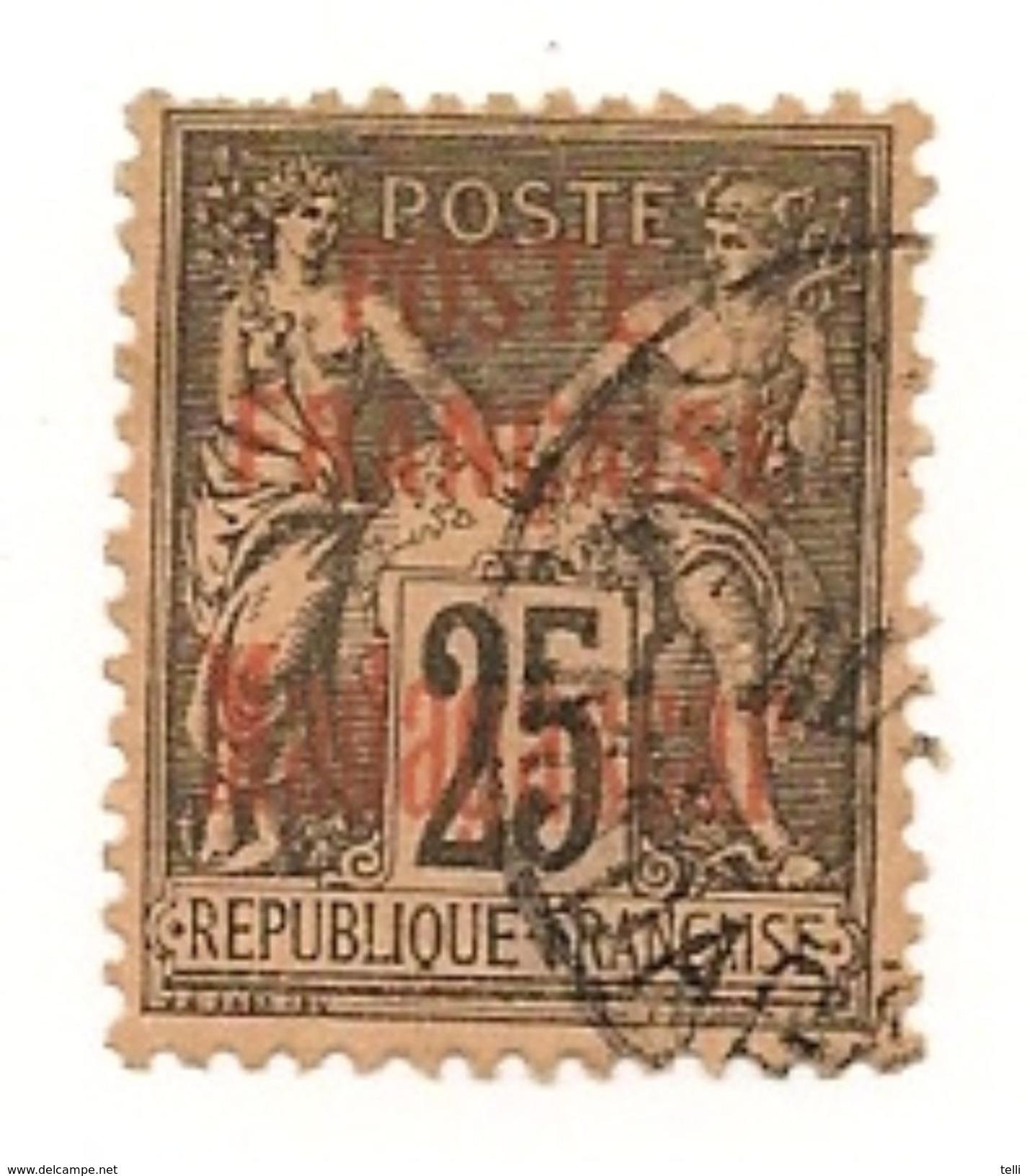 MADAGASCAR  Scott 17 Yvert 17 (1) O Cote 20,00$ 1895 - Oblitérés