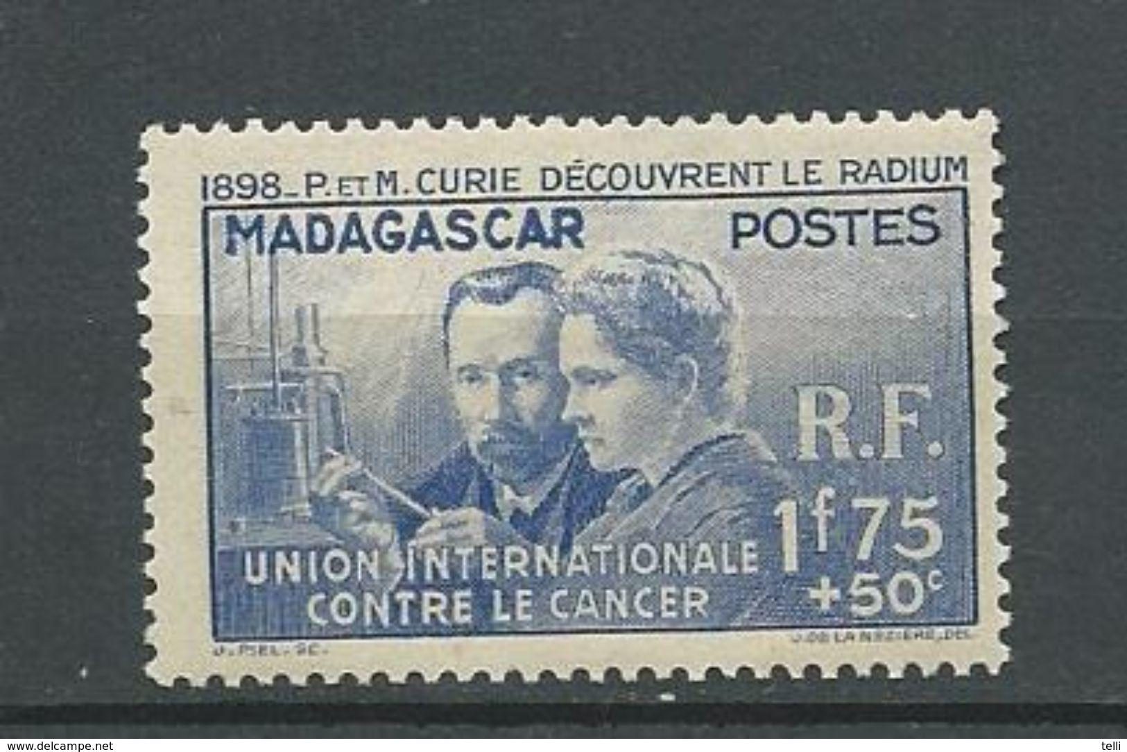 MADAGASCAR  Scott B2 Yvert 206 (1) ** Cote 9,00 $ 1938 - Neufs