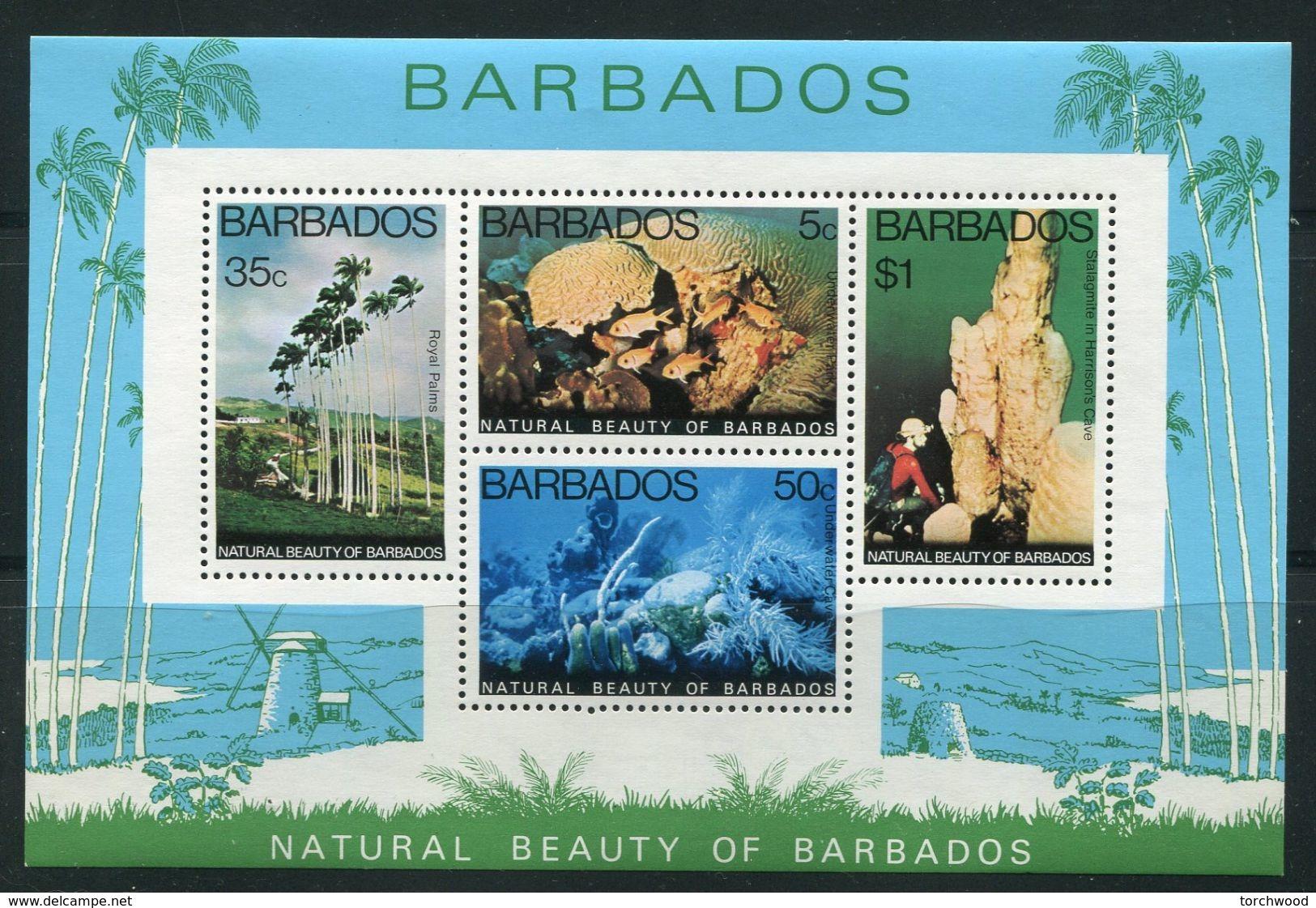 Barbados    458a,  1977 S/S Of 4  Nh - Barbados (1966-...)