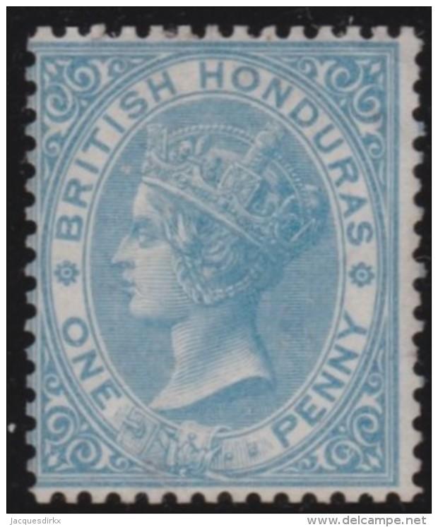 British  Honduras      .      SG     .      1            .     (*)    .     Geen Gom  .  /   .   No Gum - Brits-Honduras (...-1970)