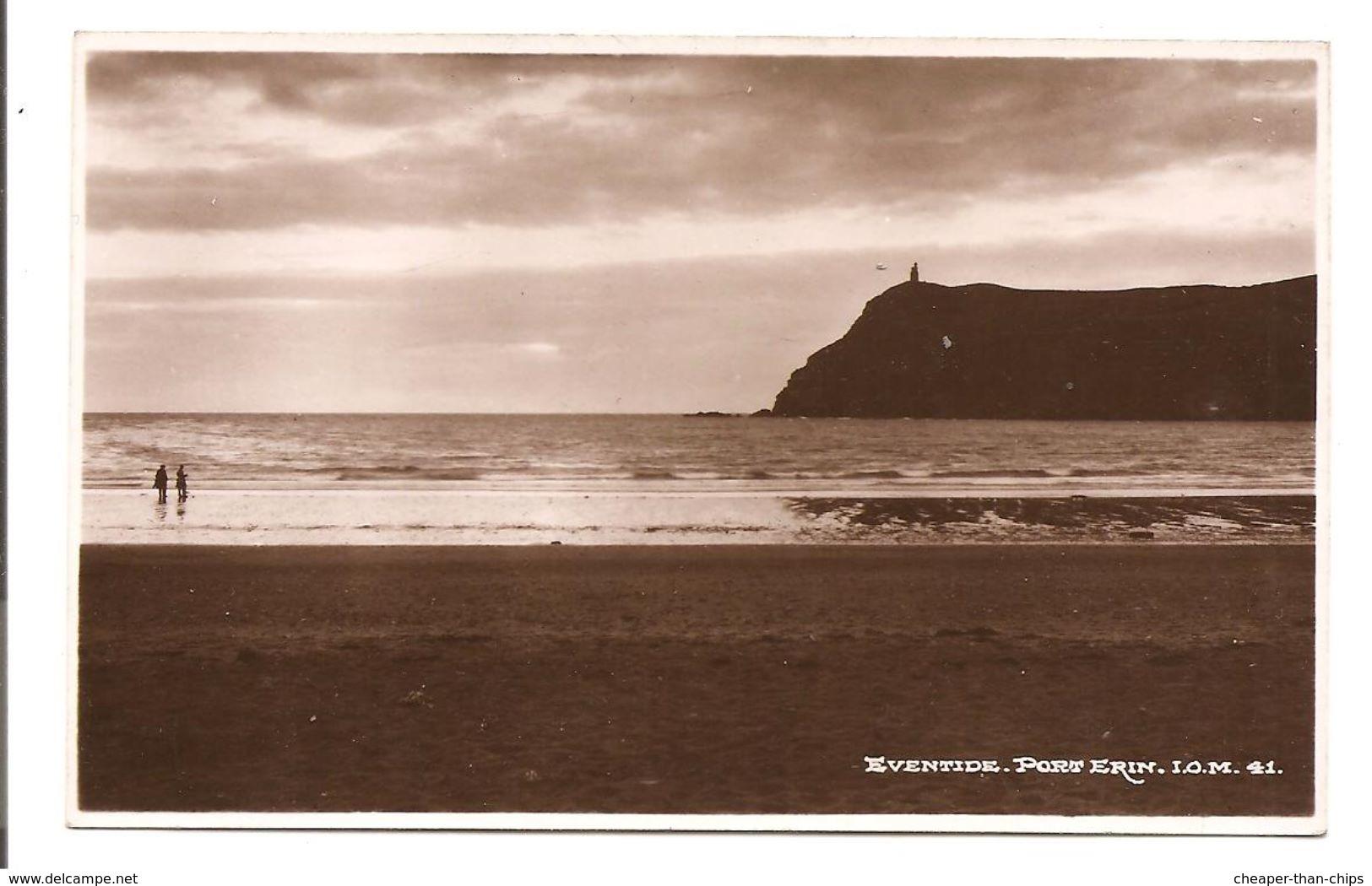 Eventide. Port Erin. - Bamforth I.O.M. 41 - Isle Of Man