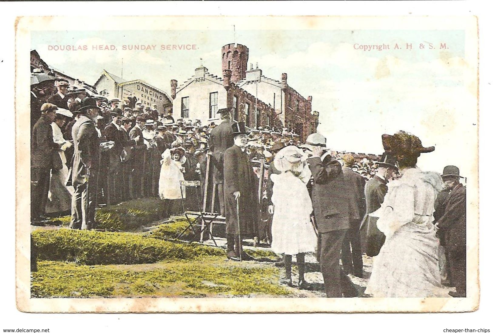 Douglas Head, Sunday Service - A.H. & S.M. - Isle Of Man