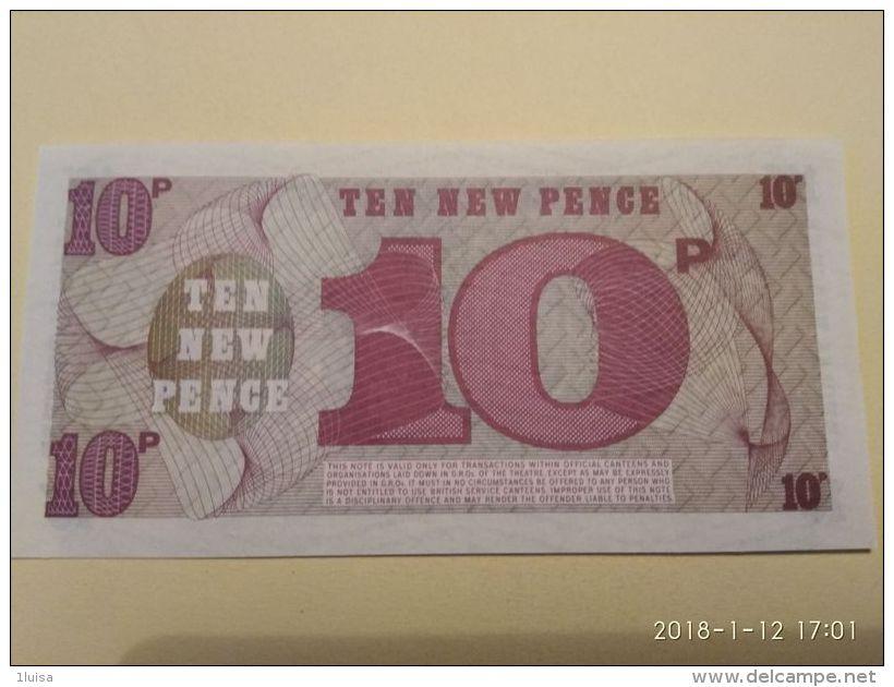 10pence - British Military Authority