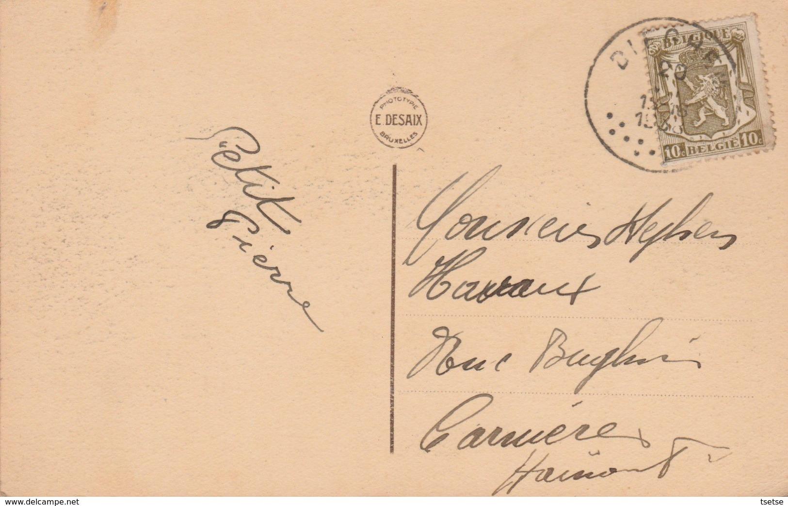 Diegem - Chaussée De Haecht, Couvent Et école St-Joseph ... Geanimeerd - 1938  ( Verso Zien ) - Diegem