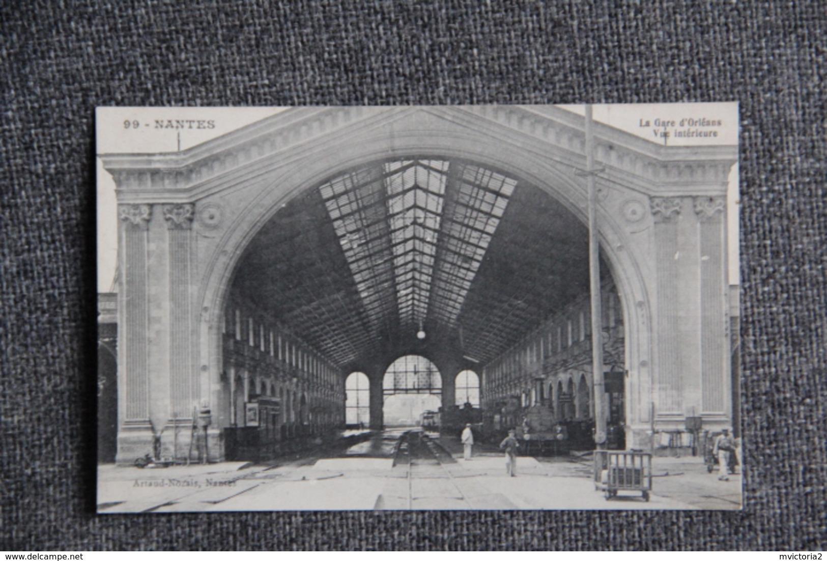 NANTES - La Gare D'ORLEANS - Nantes