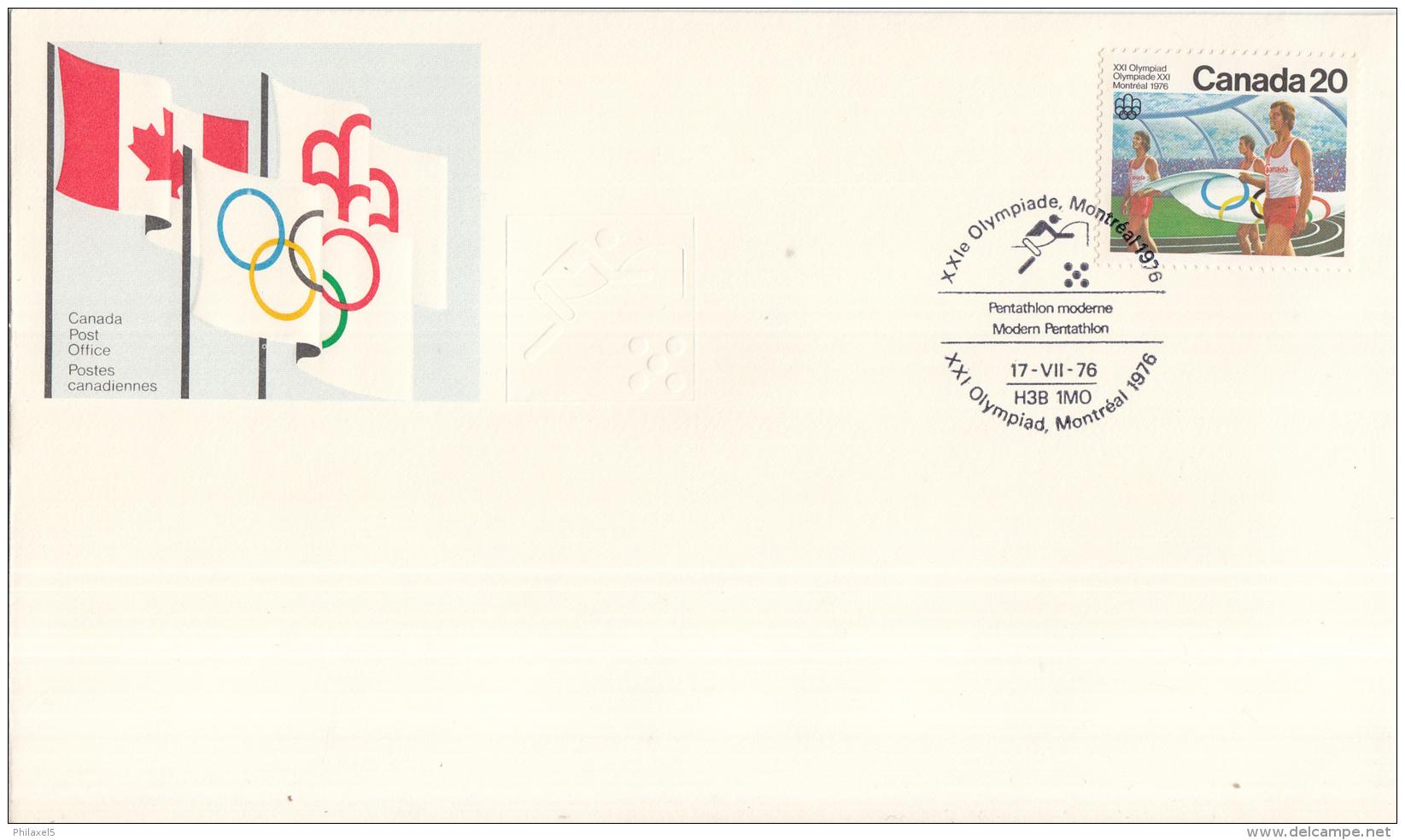 Canada - XXIe Olympiade. Montreal 1976 - 17 Juli 1976 - Pentathlon Moderne/Modern Pentathlon/Moderne Vijfkamp - M 631 - Estate 1976: Montreal