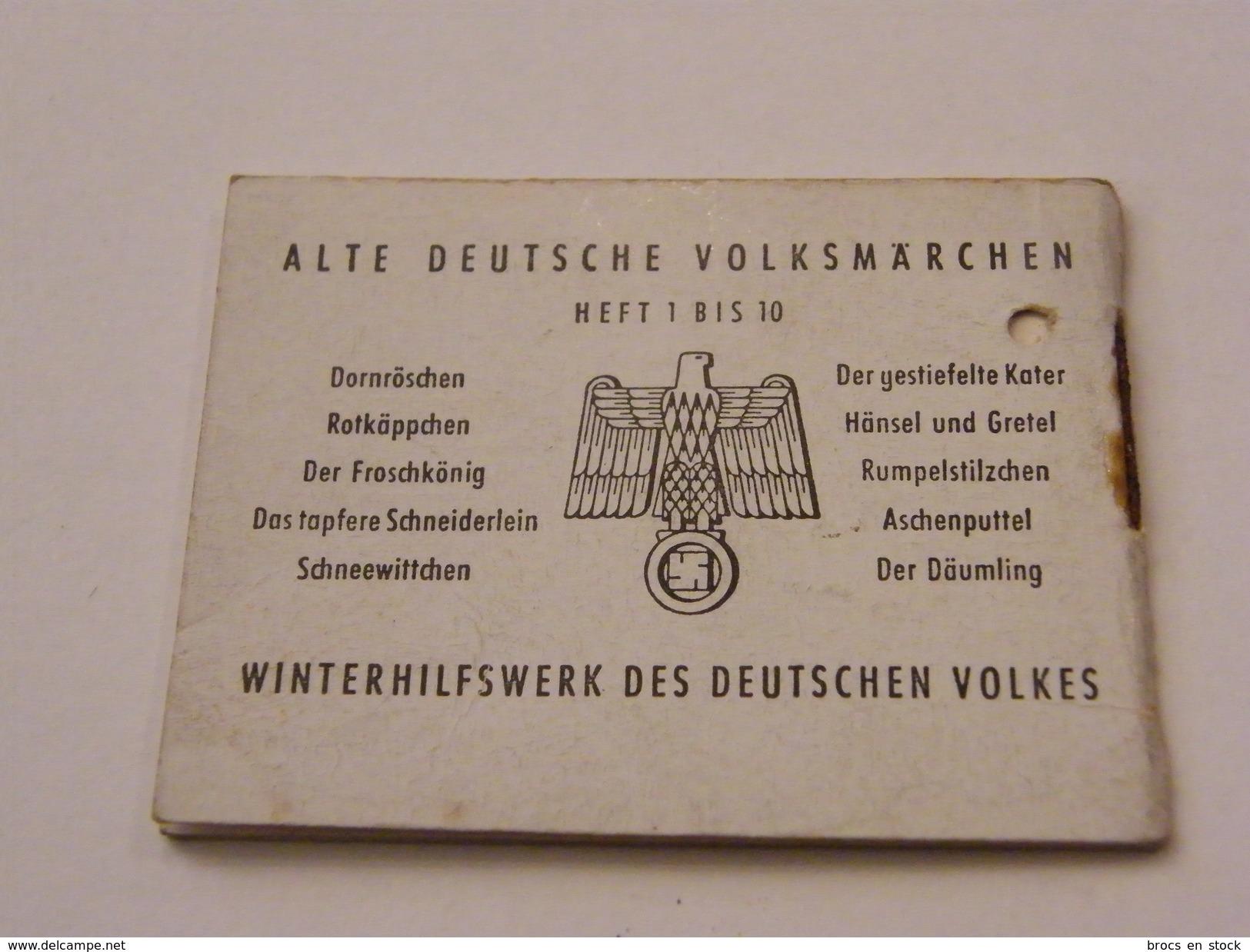 Alte Deutsche Volksmarchen Das Tapfere Schcneiderlein Heft 4 WWII - Alte Bücher