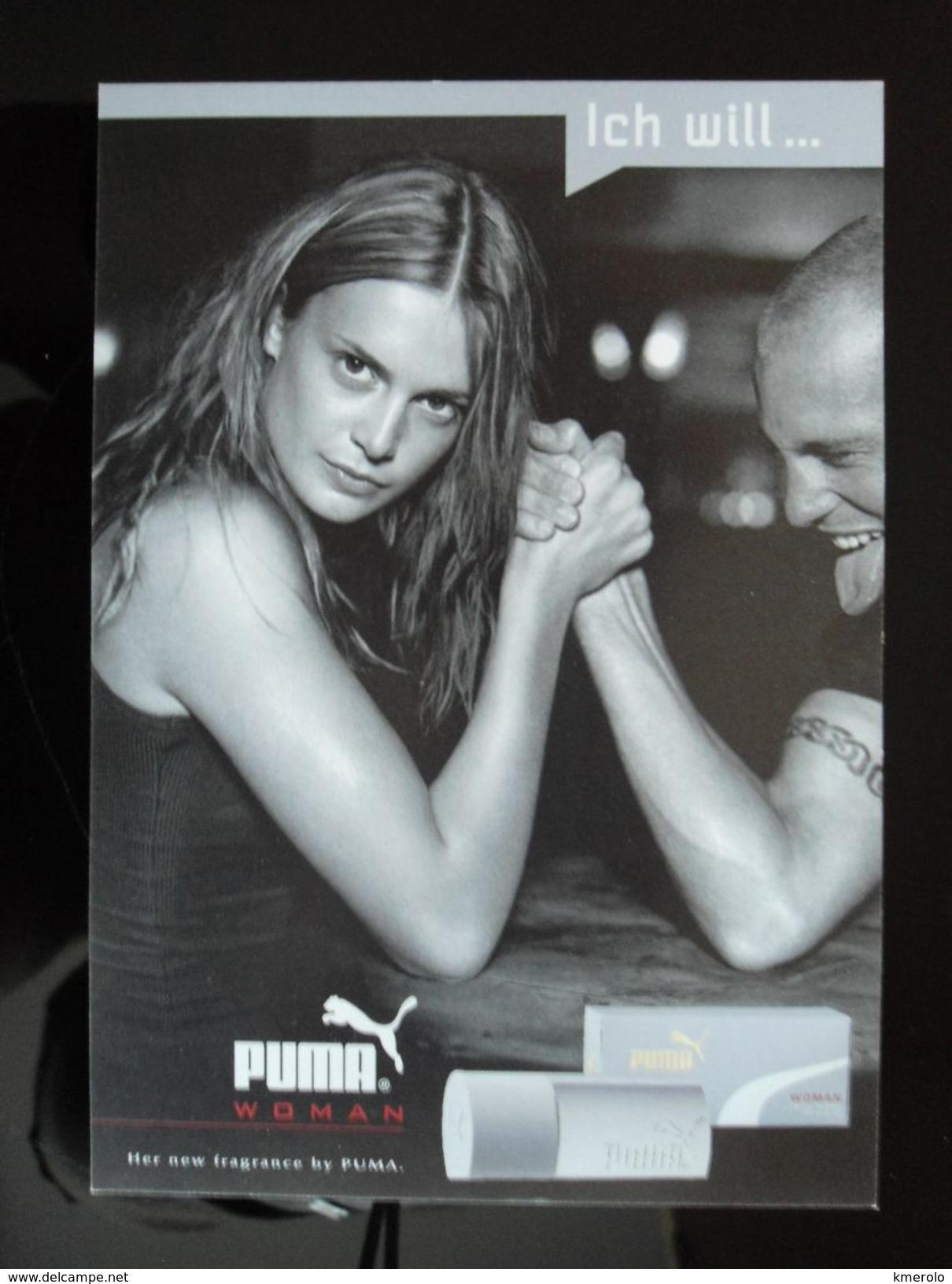 PUMA Parfum Carte - Perfume Cards