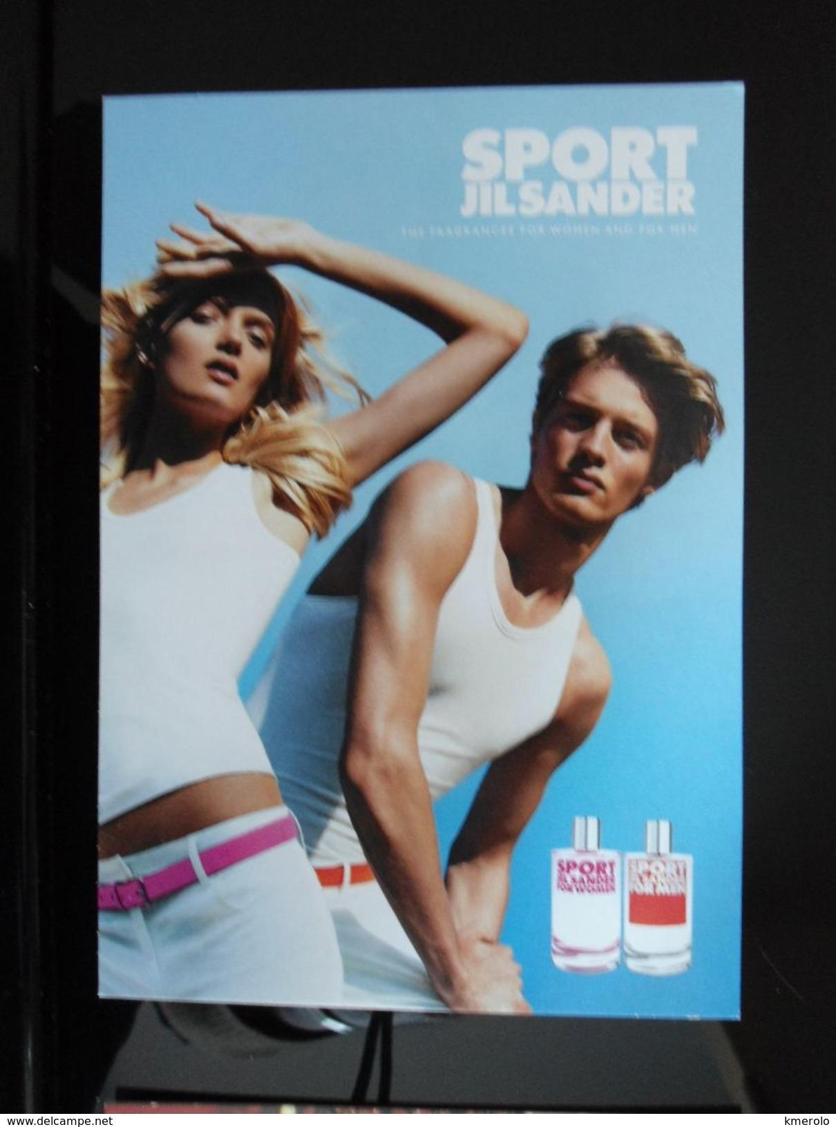 JILSANDER SPORT Parfum Carte Postale - Modern (from 1961)