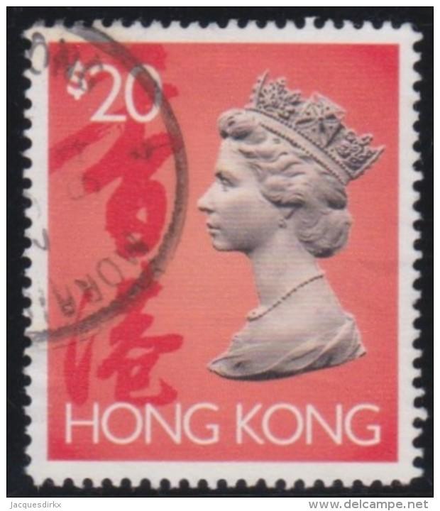 Hong Kong      .    SG     .      716        .       O      .   Gebruikt    .    /  .   Cancelled - Hong Kong (...-1997)